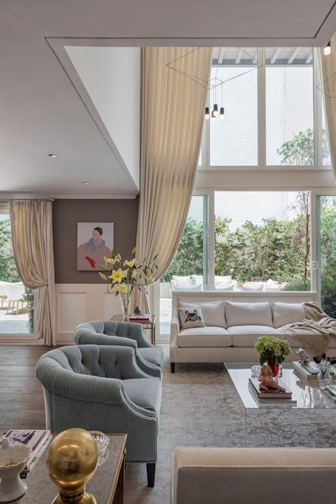 cortinas para ventanas grandes y peque as house ideas cortinas para ventanas grandes. Black Bedroom Furniture Sets. Home Design Ideas