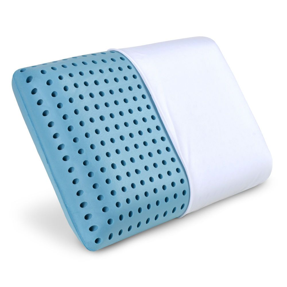 Details About Cooling Memory Foam Pillow Ventilated Bed Pillow