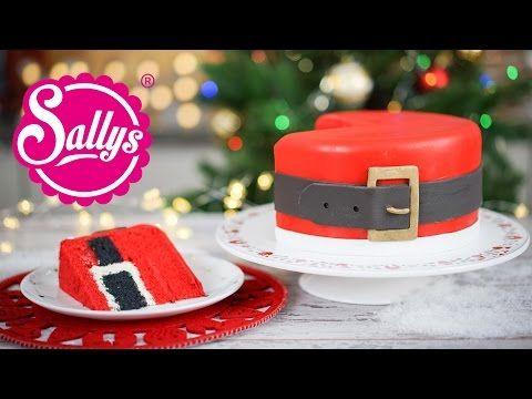Santas Belt Cake Weihnachtsmann Bauchtorte Inside Surprise Oreo