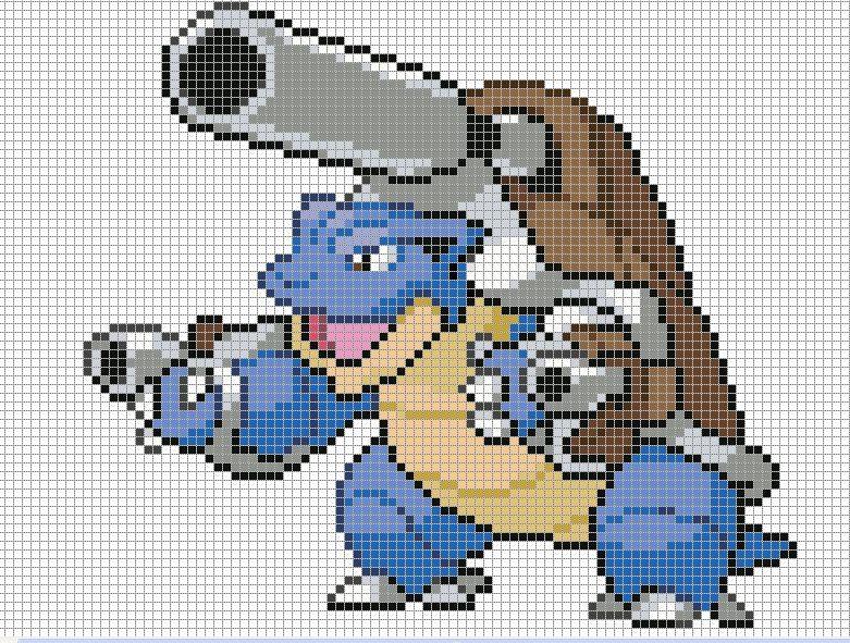 Pixel Art Pokemon A Imprimer Téléchargement Gratuit