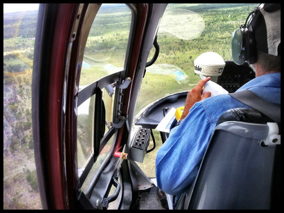 You get that real gritty on the ground feel with chopper surveys...oh wait, no you don't. Was still an interesting experience, great way to get a feel for the lay of the land