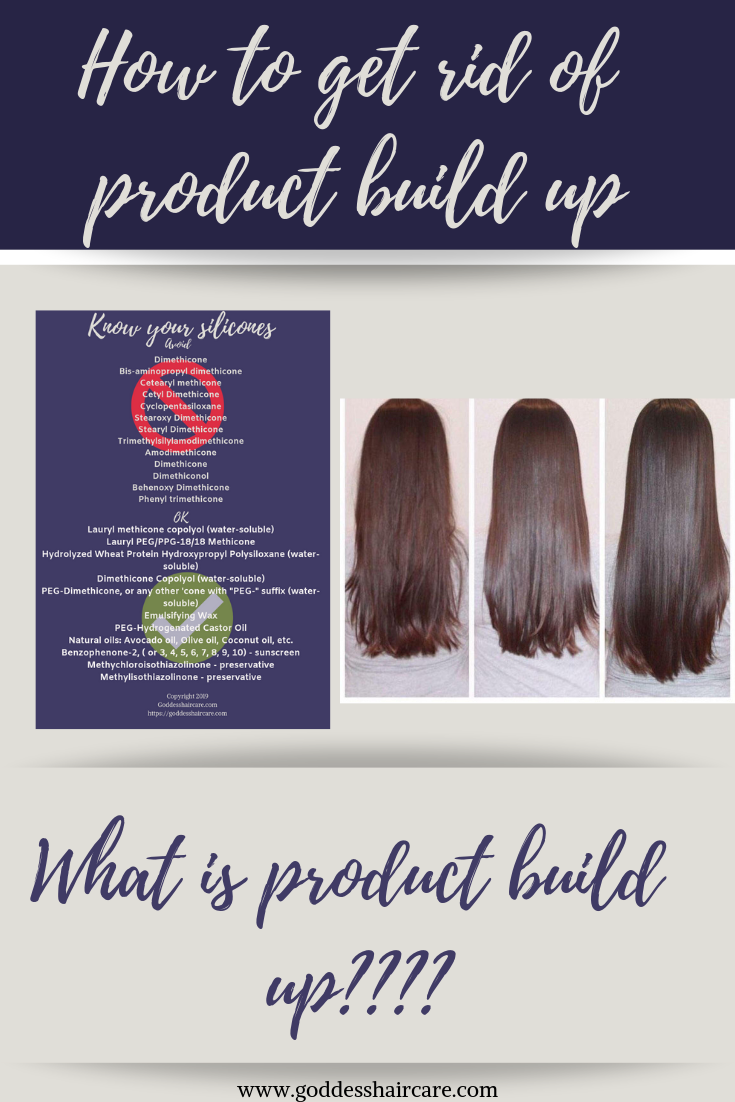 Product build up on hair and remove product build up