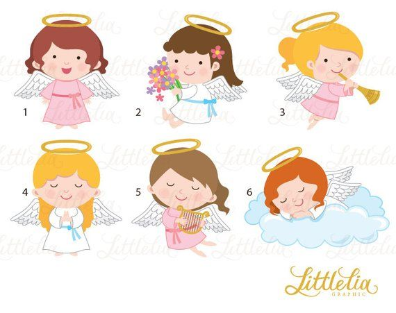 Angel heaven. Clipart products clip art