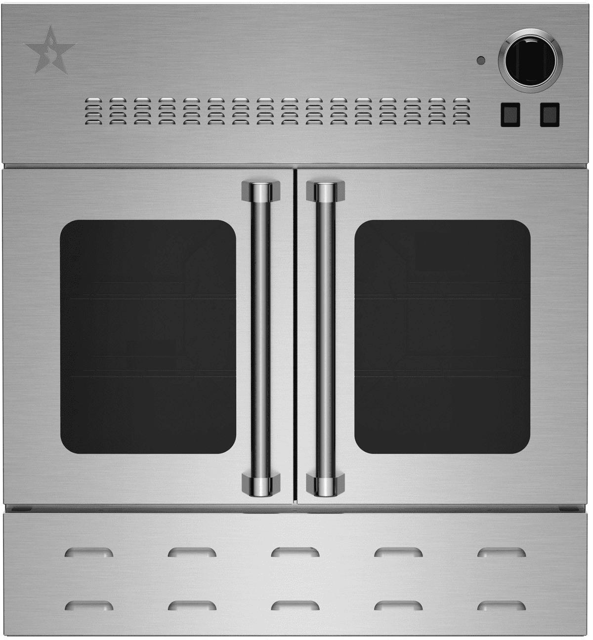 Bluestar Bwo30ags 30 Inch Single Gas Wall Oven With 25 000 Btu Burner True European Convection