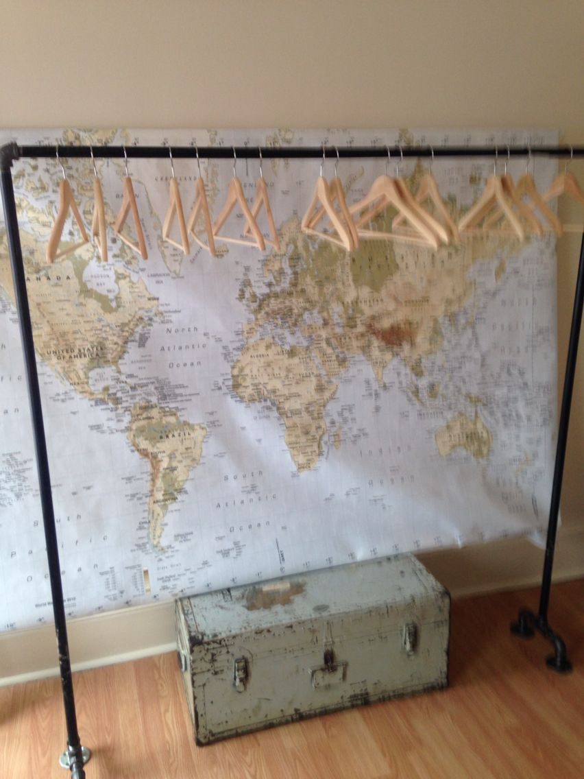 Black pipe clothing rack cost to make diy rocks students
