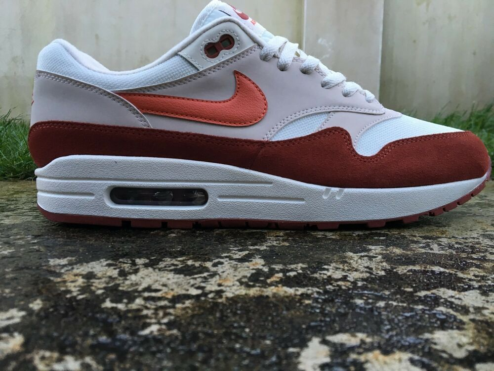Familiar Vegetales Fruncir el ceño  Nike Air Max 1 ® Size 10.5 UK EU 45.5 Coral-Mars Trainers Men's NEW AH8145- 104 #Nike #RunningShoes | Nike air, Nike air max, Air max