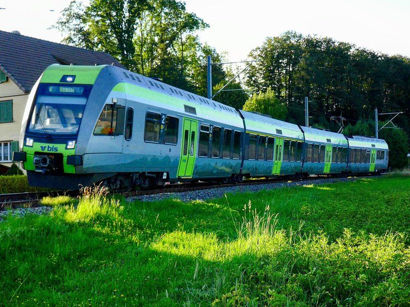 Lötschberger 119 als SBahn von Sumiswald nach Ramsei, am