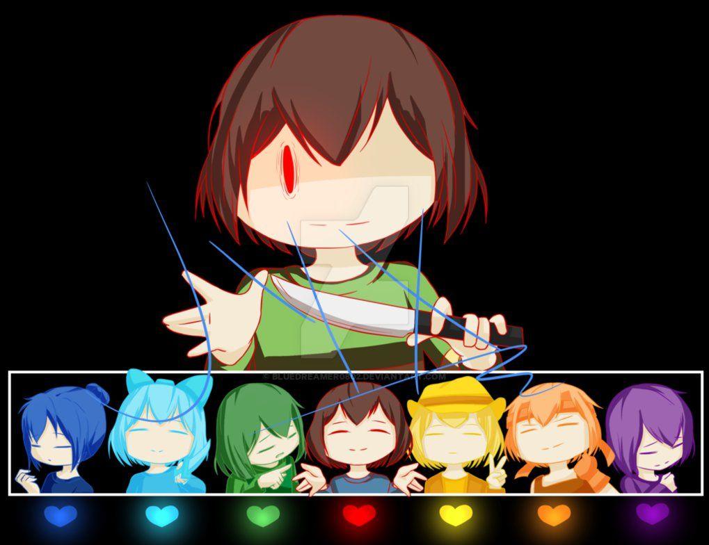 Chara And The Seven Souls Xxx Undertale er mit liv-4300
