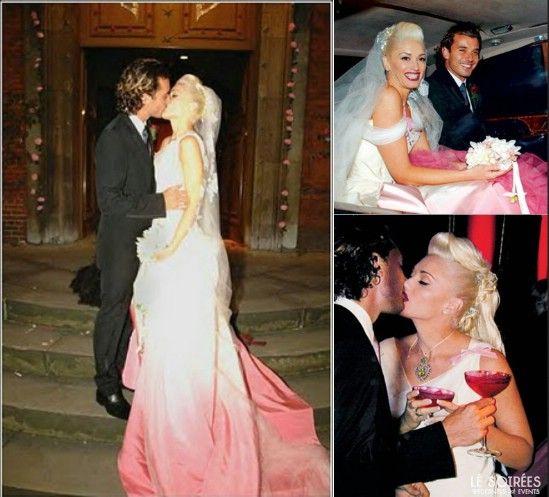 Wedding Dress From Gwen Stefani's Wedding To Gavin