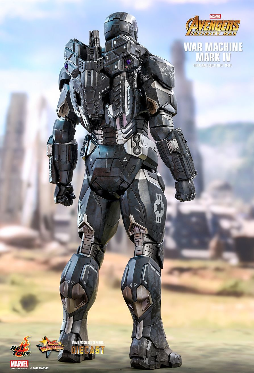 Hot Toys Avengers Infinity War War Machine Mark Iv 1 6th Scale Collectible Figure Iron Man Armor War Machine Iron Man War Machine