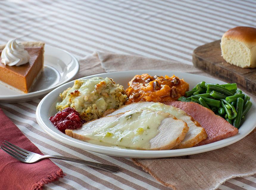 Thanksgiving Family Meal To Go Cracker Barrel In 2020 Family Meals To Go Family Meals Thanksgiving Cooking
