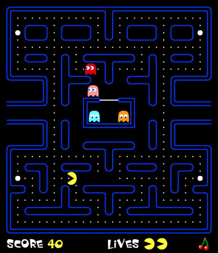 It's just a picture of Influential Pics of Pacman