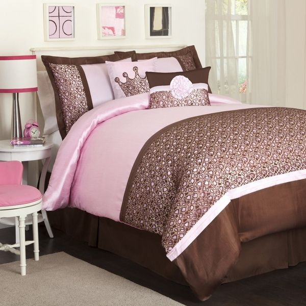 Pink And Brown Touches To Decorate Bedroom Room Decorating