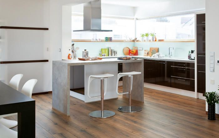 küchenboden diese bodenbeläge eignen sich  küchenboden