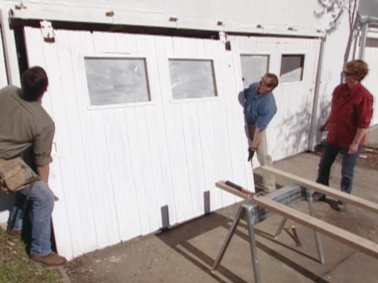 Restoring Vintage Sliding Garage Doors Sliding Garage Doors Sliding Barn Door Hardware Used Garage Doors