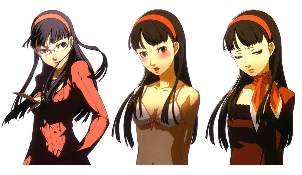 Yukiko Amagi Costumes - Characters & Art - Persona 4