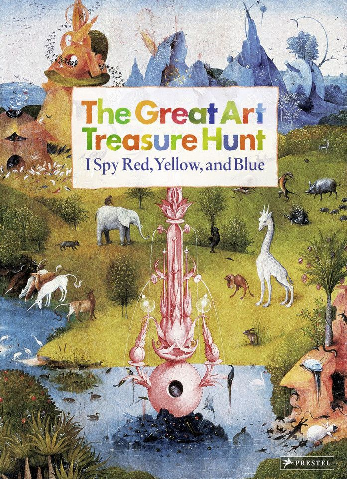 The Great Art Treasure Hunt: I Spy Red, Yellow and Blue