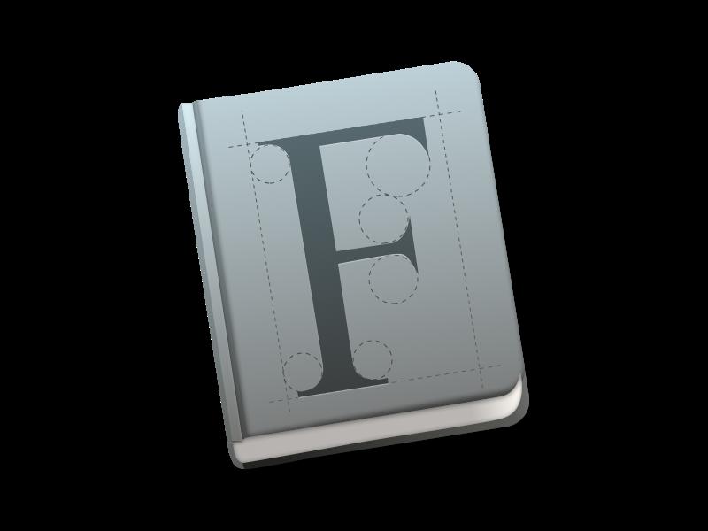 Font Book Icon Mac OS X Yosemite Mac os x yosemite, Osx