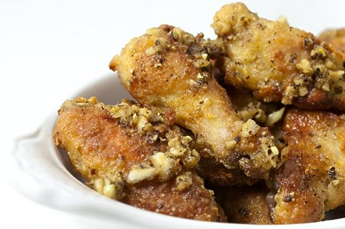 Garlic Pepper Chicken Wings