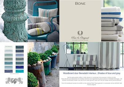 Shades of blue and gray #benedetti #gordijnen #moodboards #interieur ...