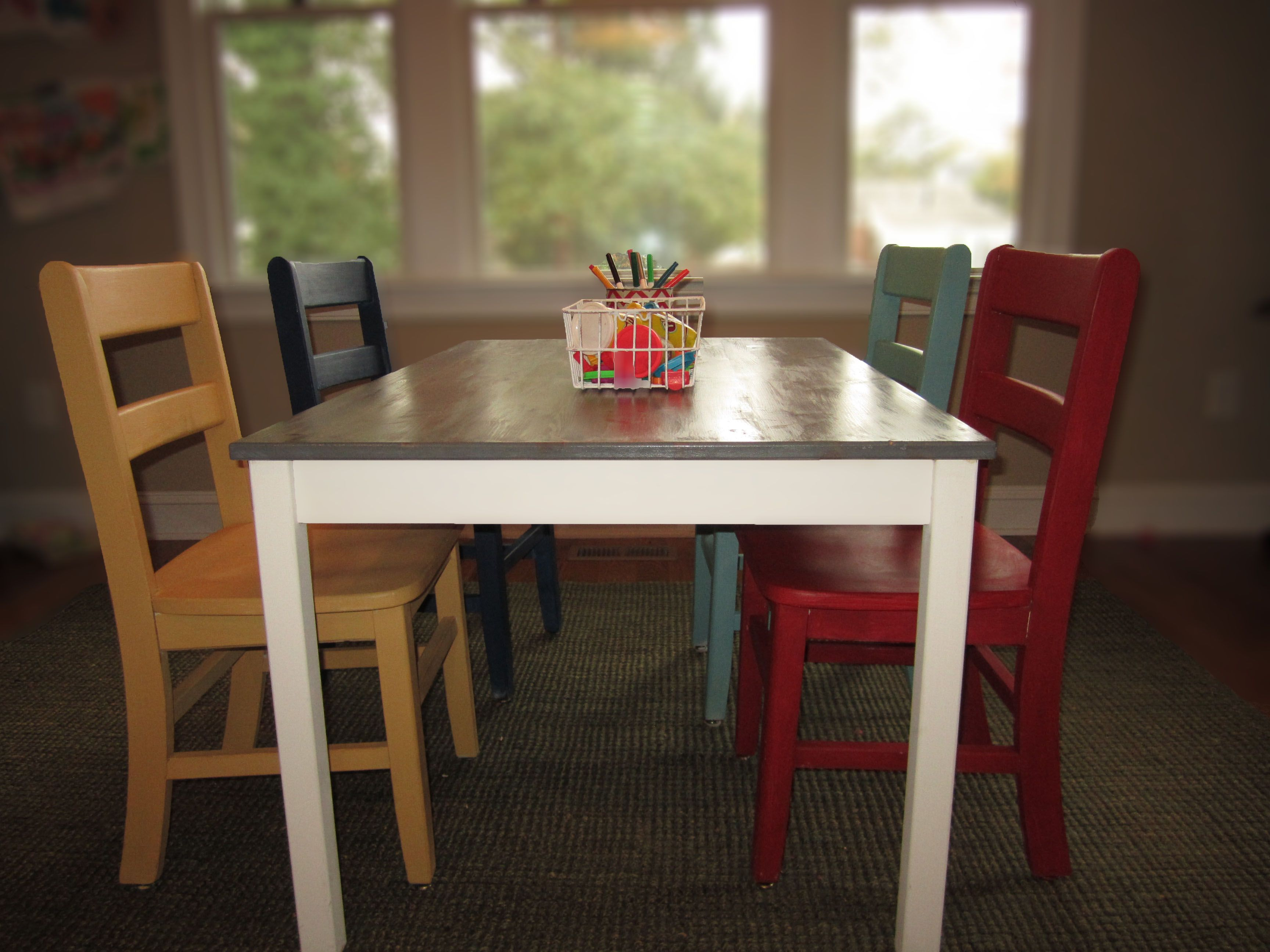 IKEA Hack Dinning Table To Kids Play TableDining Room