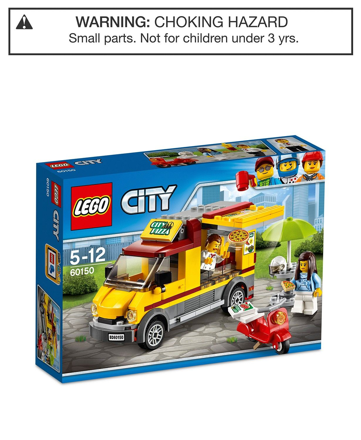 LEGO® City 249Pc. Great Vehicles Pizza Van Set 60150