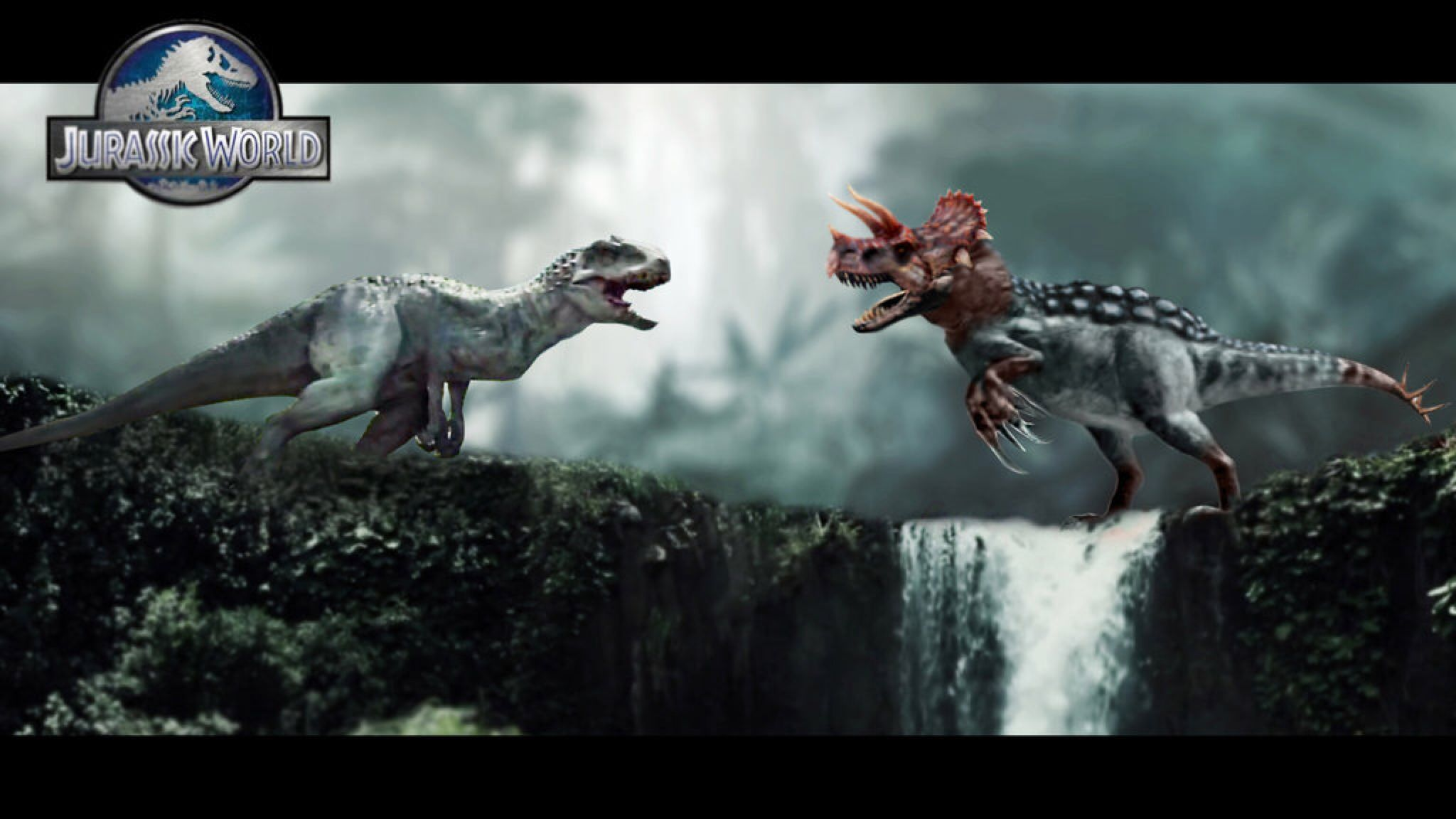 Indominus Rex VS Ultimasaurus by WidowKnight on