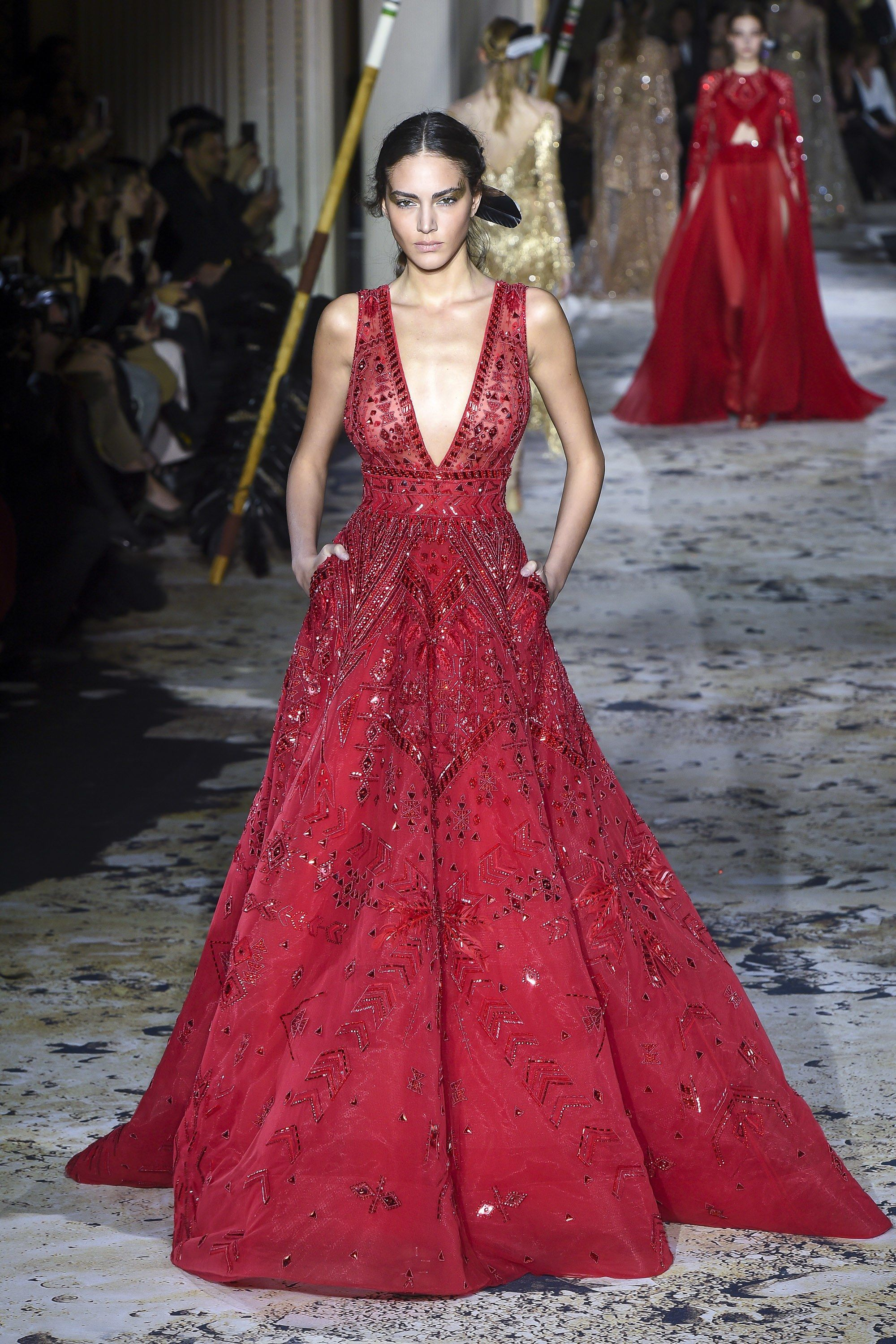 Zuhair Murad Spring Couture Fashion Show Style Pinterest