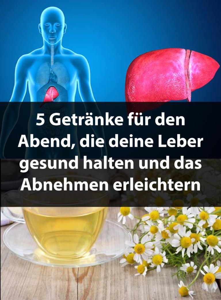 5 Getränke für den Abend, die deine Leber gesund halten ...