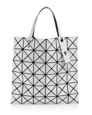 Bao Bao Issey Miyake Bao Bao Issey Issey Miyake Lucent Matte Tote In 01 White Modesens In 2020 Bao Bao Issey Miyake Tote Bag Mall Gifts