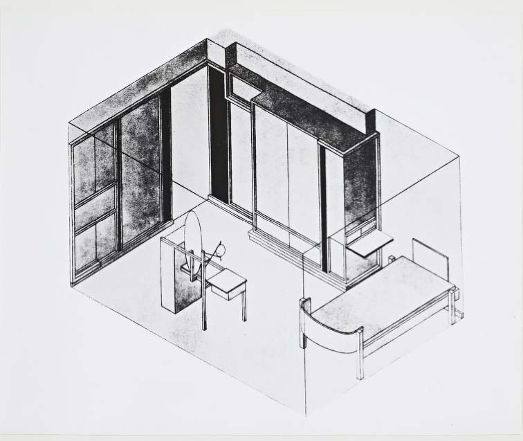 A Prototypal House At The Bauhaus The Haus Am Horn By Georg Bauhaus Bauhaus Architecture Architecture Sketchbook