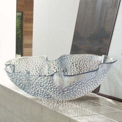 Global Views Iridescent Pebble Decorative Bowl