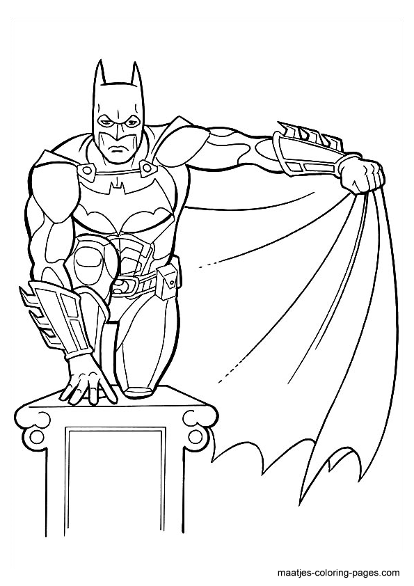 Batman Coloring Page Batman Coloring Pages Cartoon Coloring Pages Superhero Coloring
