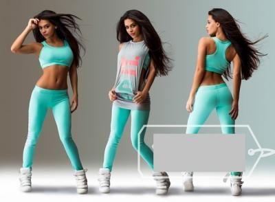 71b55939b1407a JUST DO IT dres fitness silownia komplet S, M   ~ S P O R T ...