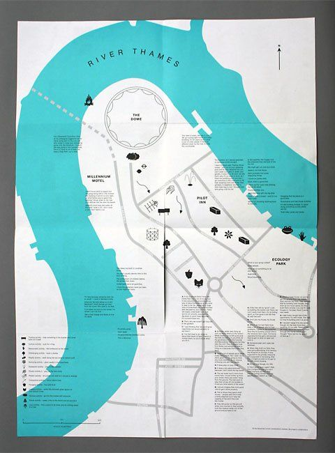 very very nice london map simple and great colour