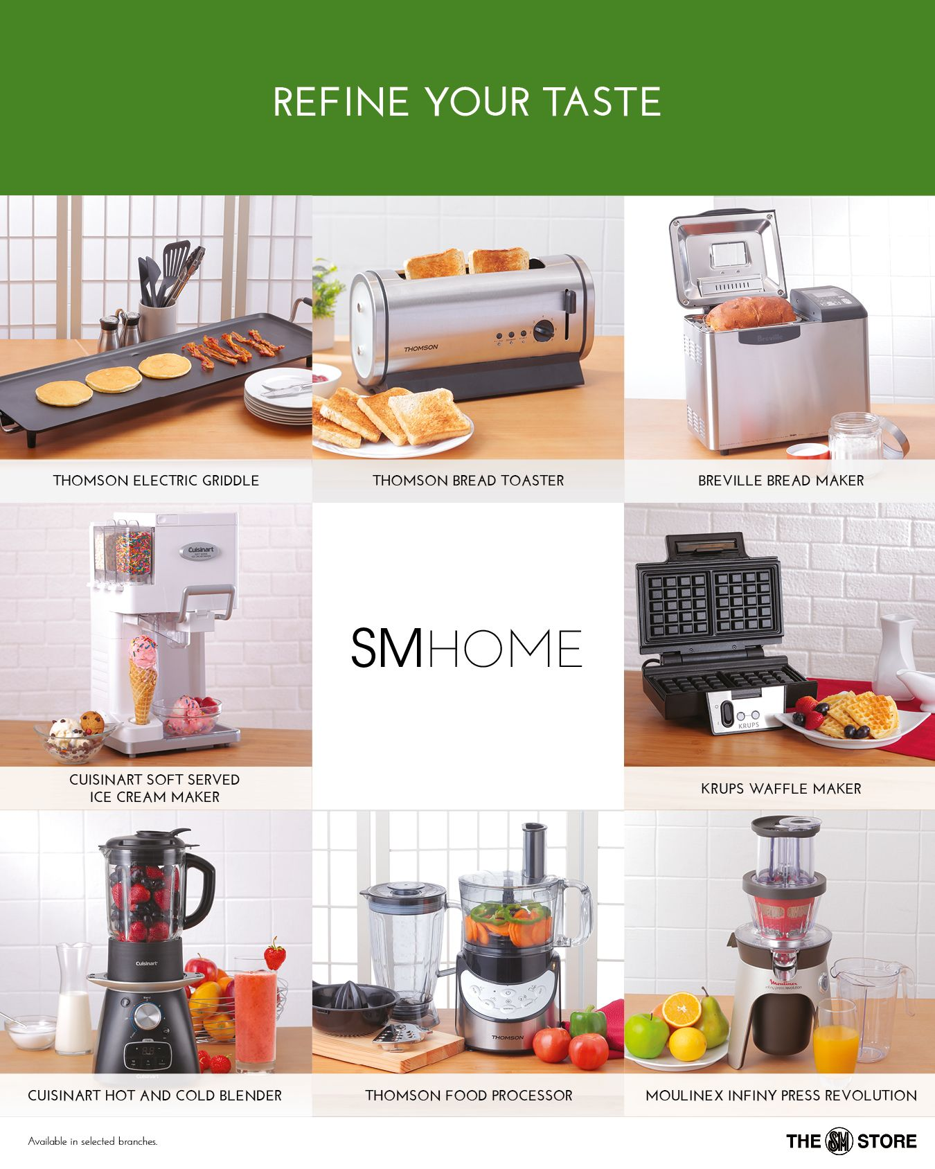 sm home kitchen appliances in yummy and cook magazines april 2015