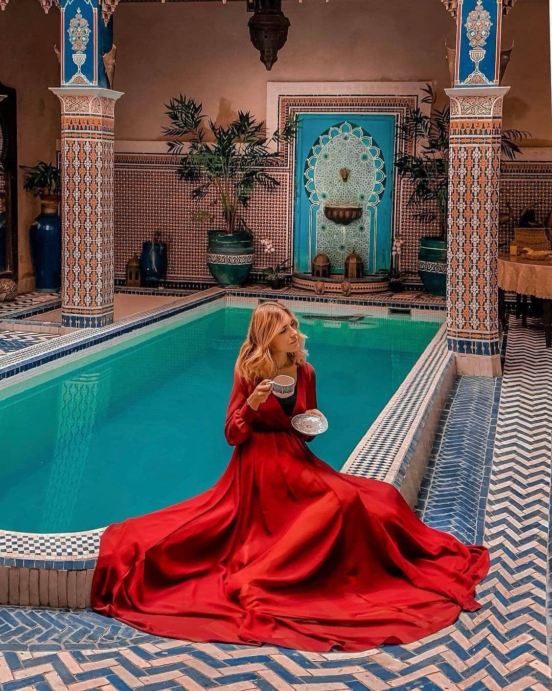 Good Morning Marrakech Wishing You A Happy Monday Follow Us On Moroccohotels Photo Deniselascala Marrakech Beautiful Destinations Trip Advisor