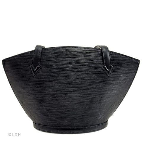 Louis Vuitton Black Epi St. Jacques