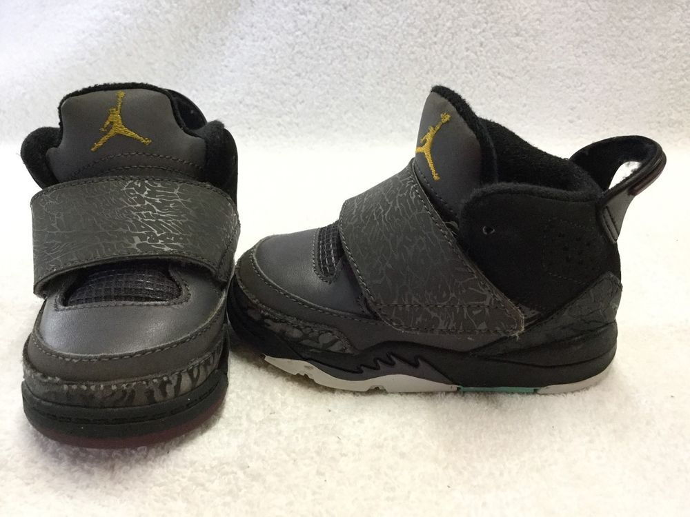 f94033d9f0a65f  nike air jordan son of mars stealth  toddler   boys grey black  shoes--size  5 c from  25.0