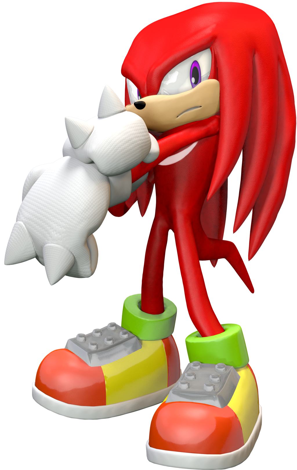 3d Knuckles Sa2b By Adnansonic On Deviantart Sonic Fan Characters Echidna Rouge The Bat