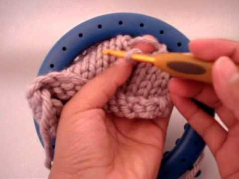 Loom Knit Picking Up A Dropped Stitch Or How To Fix A Boo Boo
