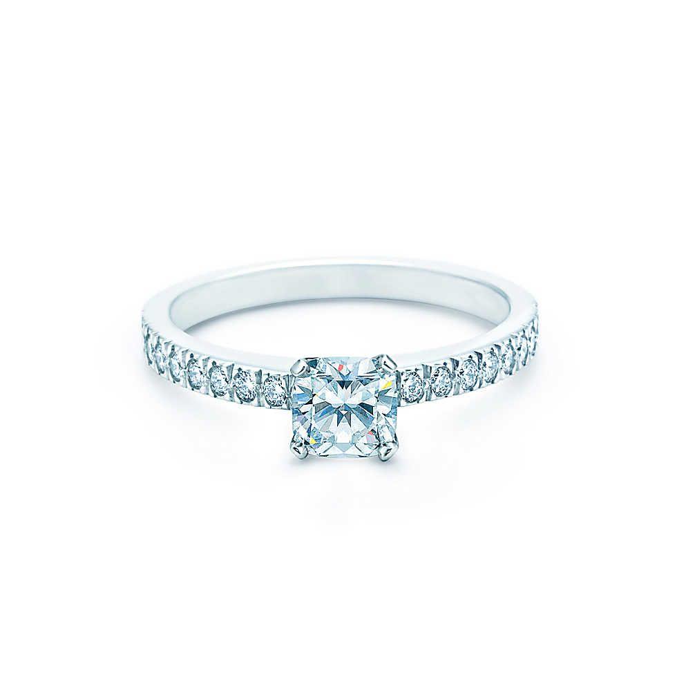 6c3e7a4d68288 Bague Tiffany Novo® Bagues de FiançaillesTiffany   Co.   Wedding ...