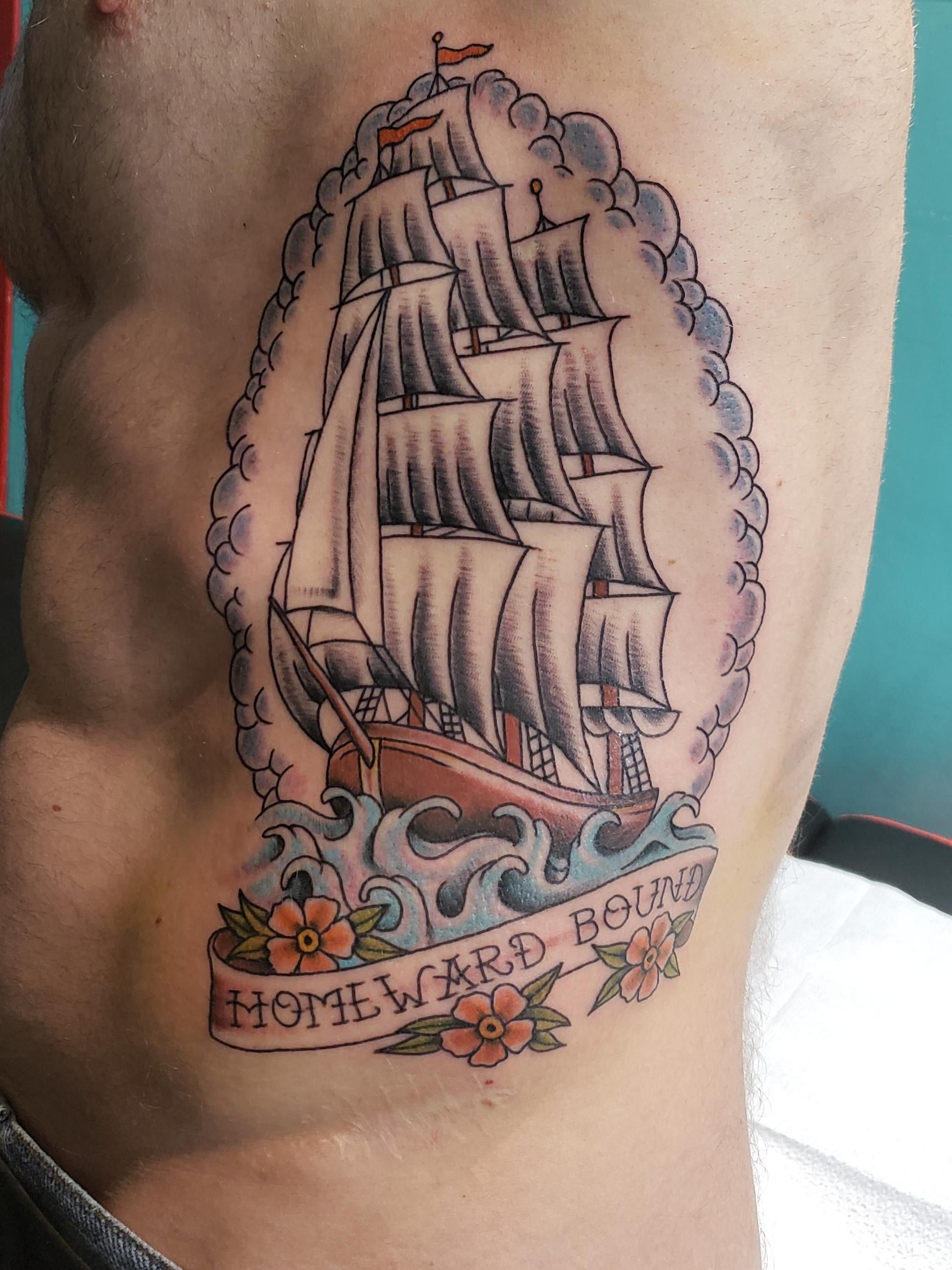 Homeward bound done by dan at electric ladyland in new