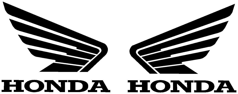 honda double winged logo honda logo pinterest wings. Black Bedroom Furniture Sets. Home Design Ideas