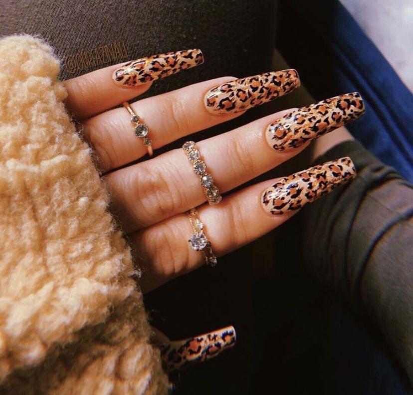 Pinterest Xobelin Cheetah Nails Leopard Nails Shiny Nails Designs Leopard Print Nails