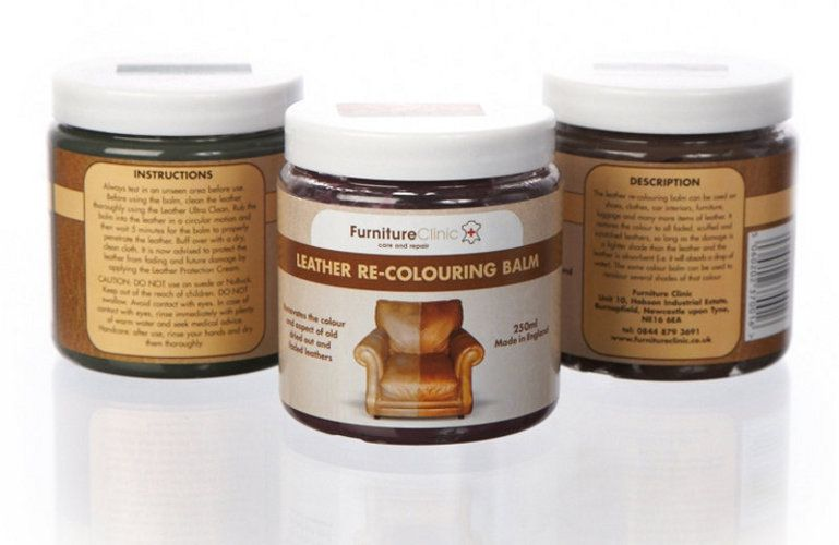 Leather Re-Coloring Balm | Renewing Furniture | Pinterest | Leather ...