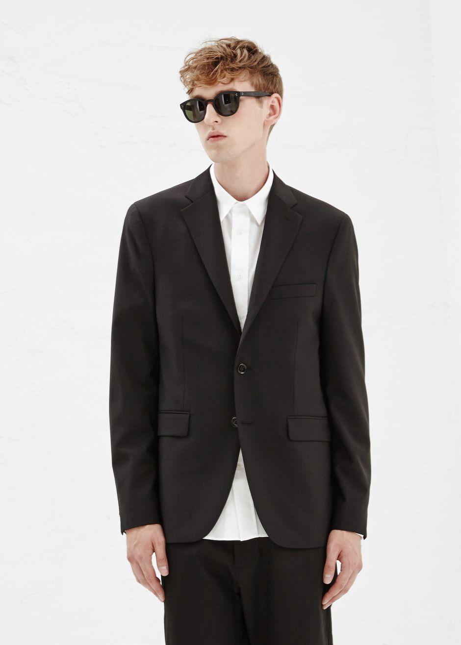 Acne Studios Wool Drifter Suit Jacket in Black