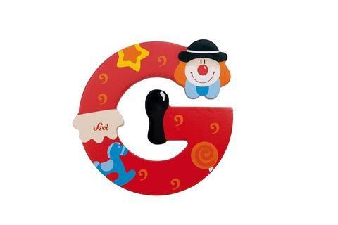 Sevi Letters F Clown