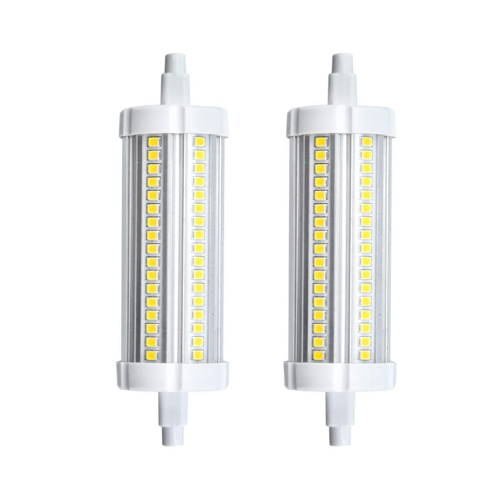 20w Led R7s 118mm Light Bulb Double Ended Led J118 Type T3 Floodlight 200w Halogen Replacement Bulb Warm White 3000k 2pack You Could Di Light Bulb Bulb Led