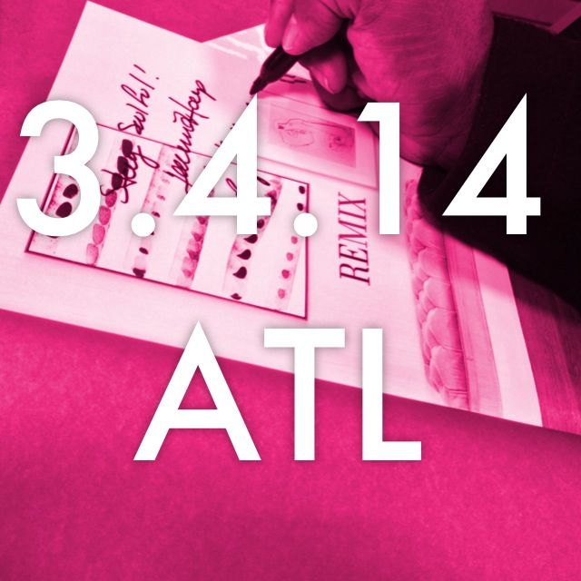 Save the Date: AphroChic Book Party at Room & Board Atlanta 3.4.14 #remixbook